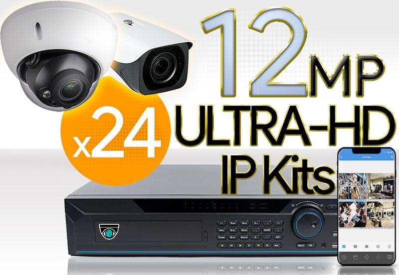 24 12MP Camera Kits