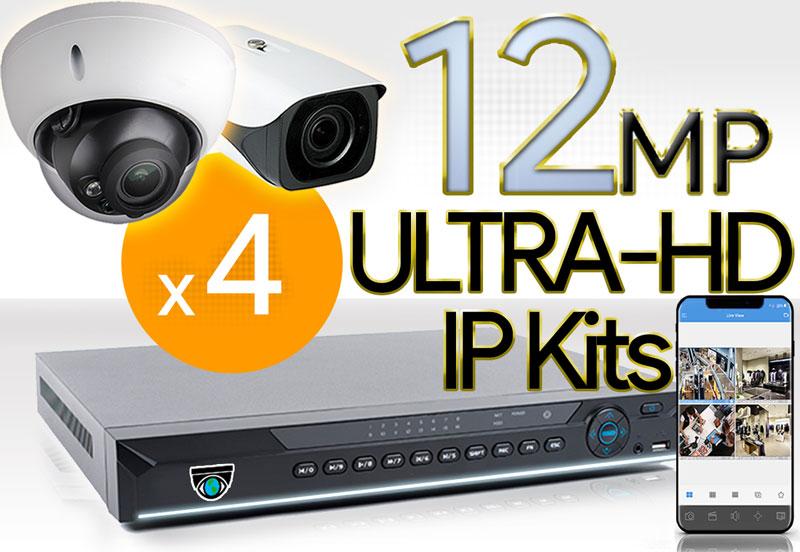 4 12MP Camera Kits