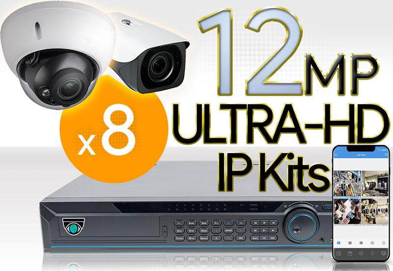 8 12MP Camera Kits
