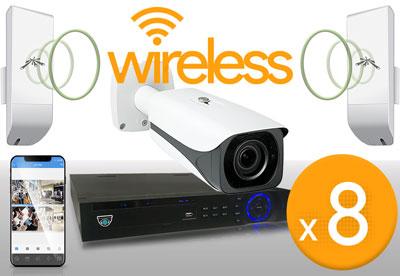 8 Camera Wireless 12MP Kit
