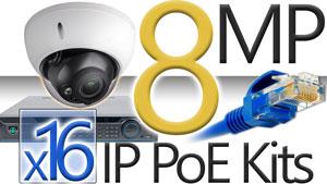 16 8MP Camera Kits