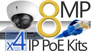 4 8MP Camera Kits