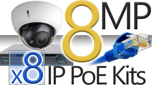 8 8MP Camera Kits