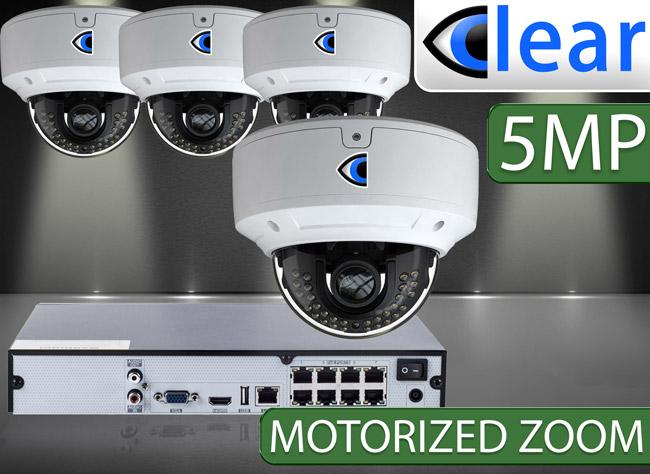 CLEAR 4 Camera IP Kits