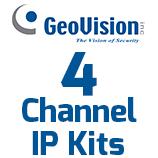 4ch GV IP Camera Systems