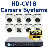 8ch HD Camera Systems