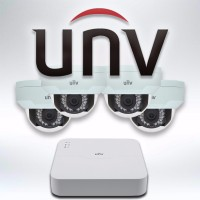 IP Camera Systems - 4ch Uniview