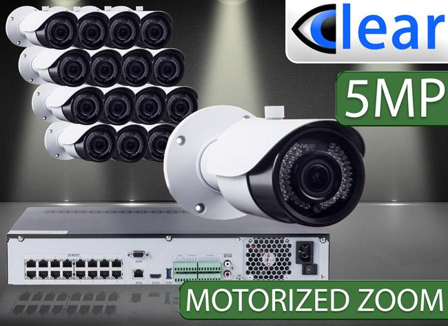 CLEAR 16 Camera IP Kits