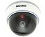 Fake Dummy Dome Security camera with Blinking LED - WHITE