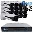 4MP IP PoE 16 Motorized Bullet Camera Kit (IP40)