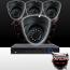 8CH IMAX NVR & Ninja 4 Megapixel IP Eyeball Dome Camera 4 Cam Kit