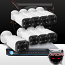 16CH IMAX NVR & Ninja 4 Megapixel IP Motorized Zoom Bullet Camera 8 Cam Kit (White)