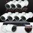 16CH IMAX NVR & Ninja 4 Megapixel IP Mini Bullet Camera 8 Cam Kit