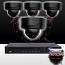 8CH IMAX NVR & Ninja 4 Megapixel IP Mini Dome Camera 4 Cam Kit
