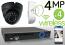 Wireless 4MP IP Eyeball Dome (4) Camera Kit (Ninja)
