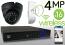 Wireless 4MP IP Eyeball Dome (16) Camera Kit (Ninja)