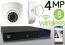 Wireless 4MP IP Eyeball Dome (8) Camera Kit (White)