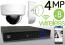 Wireless 4MP IP Dome (8) Camera Kit (White)