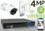 Wireless 4MP IP Mini Bullet (4) Camera Kit