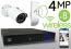 Wireless 4MP IP Mini Bullet (8) Camera Kit