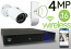 Wireless 4MP IP Mini Bullet (16) Camera Kit