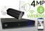 Wireless 4MP IP 2.8-13.5mm Motorized Bullet (8) Camera Kit (Ninja)