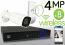 Wireless 4MP IP 2.8-13.5mm Motorized Bullet (8) Camera Kit (White)