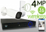 Wireless 4MP IP 2.8-13.5mm Motorized Bullet (16) Camera Kit (White)