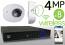 Wireless 4MP IP Wedge Dome (8) Camera Kit (IP2828)
