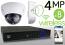 Wireless 4MP IP 2.7mm ~ 12mm Motorized Dome (8) Camera Kit (IP41)