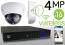 Wireless 4MP IP 2.7mm ~ 12mm Motorized Dome (16) Camera Kit (IP41)