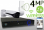 Wireless 4MP IP 2.7mm ~ 12mm Motorized Bullet (16) Camera Kit (IP40)