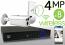 Wireless 4MP IP Bullet (8) Camera Kit (IP141D)