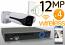 Wireless 12MP IP Bullet (4) Camera Kit
