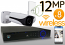 Wireless 12MP IP Bullet (8) Camera Kit