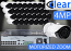 32 CH NVR with (32) IPX13 4 Megapixel, 3.3-12mm Motorized Lens, 30m IR, H.265, CVBS (BNC) Optional, Network IP Bullet Camera, & 16 Channel POE Switch