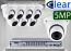 16 CH XVR with (8) DX8 5 Megapixel, 3.6mm Lens, 20m IR, H.265, CVBS (BNC) Optional, Analog Dome Camera